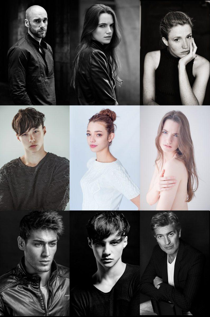 portraits modeles studio et exterieur