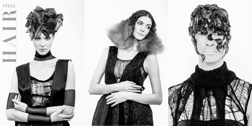 campagne coiffure shooting mannequin
