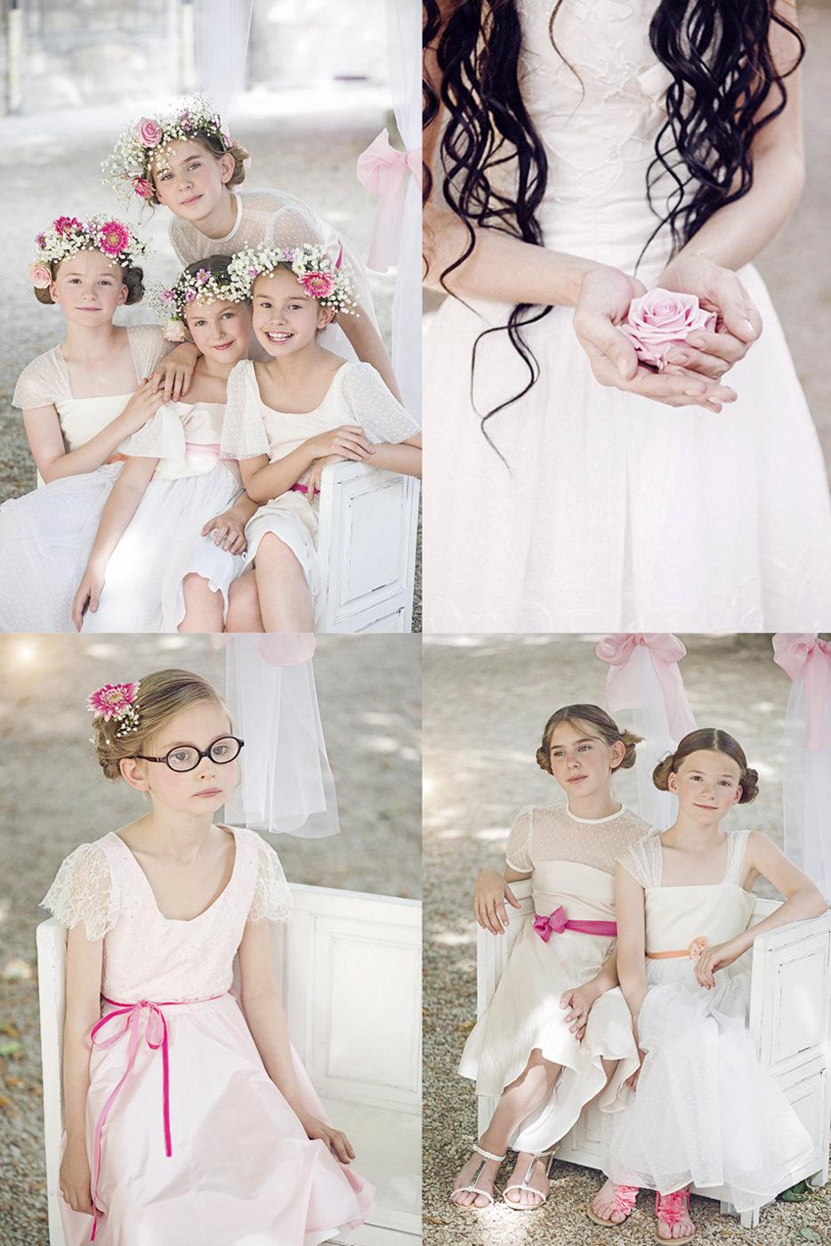 enfants photographie mariage